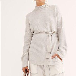 NWT FP beach knit pullover